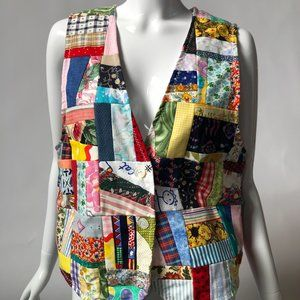 Handmade Jackets & Coats - Handmade Patchwork Vest - New, Never Worn